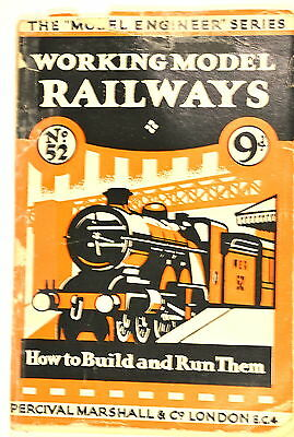 WORKING MODEL RAILWAYS HOW TO BUILD & RUN Book by Davidson 4 live steam myford