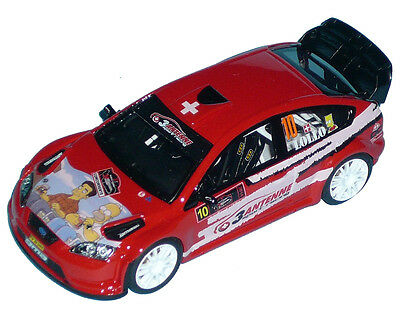 "Ford Focus Wrc  ""lollo""  Monza Ronde 2014  Decals 1/43"