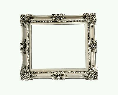 20x24 shabby chic frame - beige frame for pictures art canvas or mirror