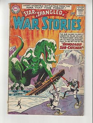 Star Spangled War Stories #112/Silver Age DC Comic Book/Dinosaur Cover/GD-VG
