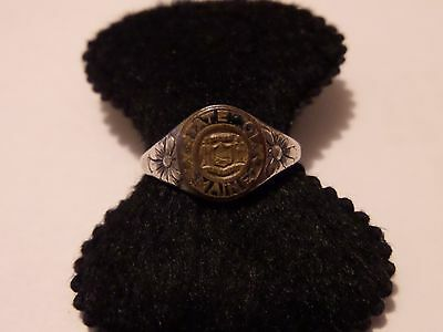 Vintage State Of Maine Sterling Ring Size 7 1/4