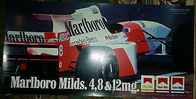 Marlbro Signage Collectors - Very Good Condition - Slight Cut see picture