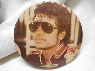 Vintage Michael Jackson Badge