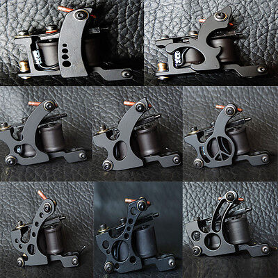 Professional Casting 10 Wrap Coil Liner or Shader Tattoo Machine Gun UK