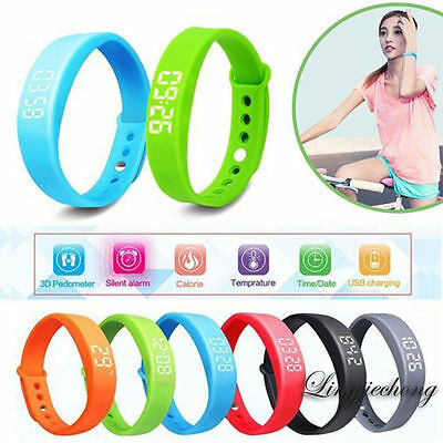 W5 Smart Watch Pedometer Step Walking Distance Calorie Counter Activity Tracker