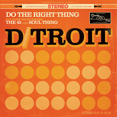 """D/troit - Do The Right Thing (10"""" Vinyl)"""