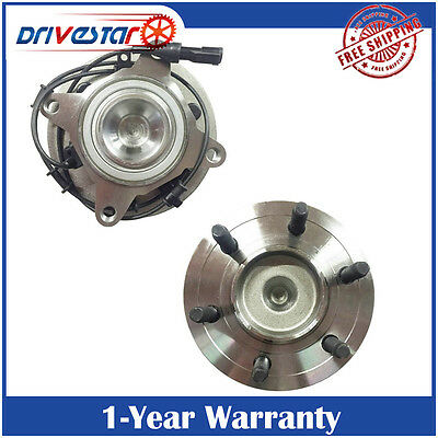 Pair: 2 New Front Left/Right Wheel Hub and Bearing fits Expedition Navigator 2WD