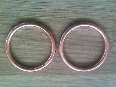 COPPER EXHAUST GASKETS  HONDA NT650 Deauville 1998-05 Pair x 2