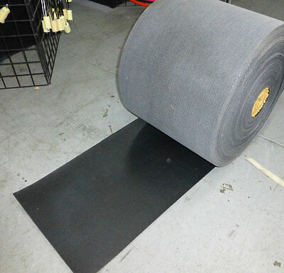 "Felt Rubber Conveyor Belt 18"" x .149"" Thick Reinforced By the foot"
