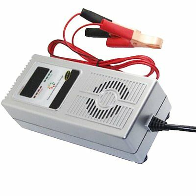 Smart Automatic 12V 8A Car Battery Charger  Pulse Desulfation Battery Reviser