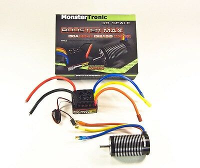 Monstertronic Brushless Combo Regler Motor 1:8 2250KV bis 6S - MT2317