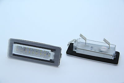 TOP LED SMD Kennzeichenbeleuchtung Smart Fortwo Cabrio 451 + Brabus TÜV FREI