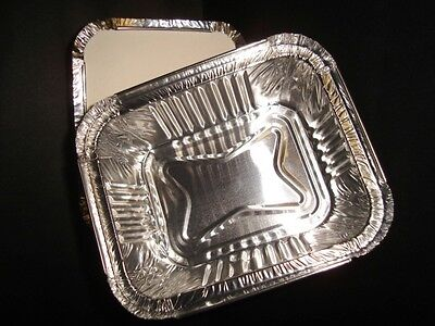 1000 x Small 2a Foil Container (Heavy Duty) FAST FOOD TAKEAWAY HOT FOODS (0302)