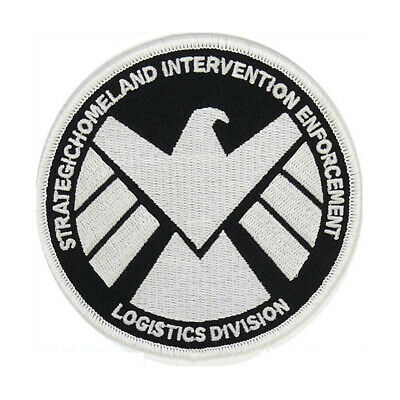 Marvels Agent of Shield GLOW IN THE DARK Embroidery Patch IRON/SEW ON US-SELLER