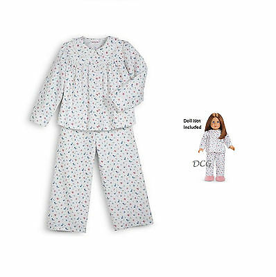 American Girl CL EMILY FLORAL PAJAMAS SIZE M(10/12) for Girls ...