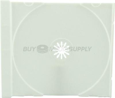 Replacement White Trays for Standard CD Jewel Case - 20 Pack