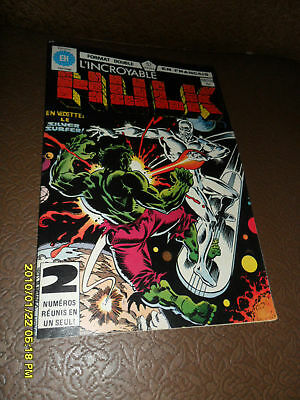 1980 The Incredible Hulk #108/109 Silver Surfer