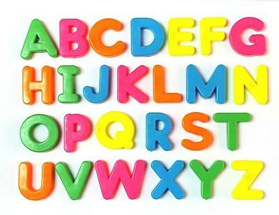 Magnetic Alphabet Letters 26 piece Childrens Kids Magnets Fridge Educational Toy