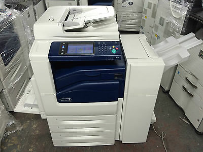 Xerox Workcentre 7120 All-In-One Printer With Finisher