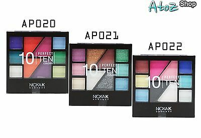 Nicka K Palette Makeup Set Perfect Ten
