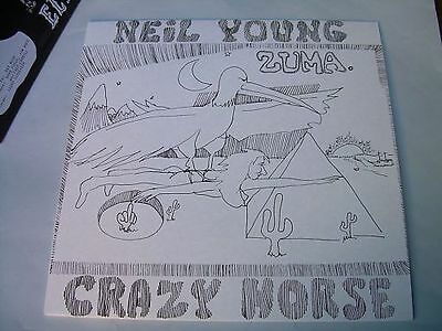 Lp Neil Young With Crazy Horse Zuma