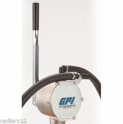 GPI HP-90 131000-1 Piston Fuel Hand Pump up to 25 GPM New!