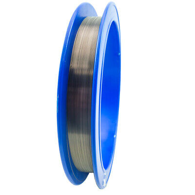 "Tungsten Fine Wire, 0.014"" Diameter, 100ft/Spool"