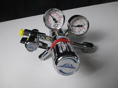 LINDE Gas Pressure Gauge Max 3000 psi in 1.5-15 psi out