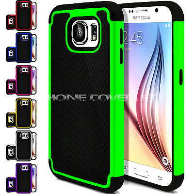 New Shockproof Dual Layer Protective Hybrid case cover for Samsung galaxy S6 S7