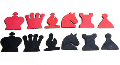 """USCF Sales Extra Pieces for your 28"""" Magnetic-Style Chess Demonstration Set"""