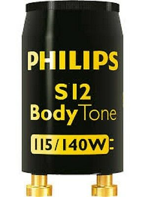 Tanning Bed Starters Philips Body Tone S12 80-140 Watt Free Shipping  Lot of 28