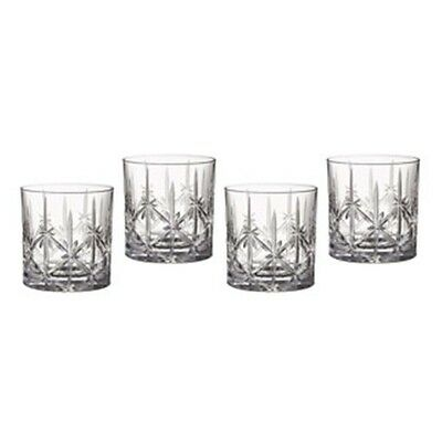 Marquis by Waterford  Sparkle Double Old Fashioned Set of 4
