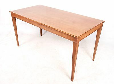 Vintage Danish Coffee Table Mahogany 1960s 70s Retro