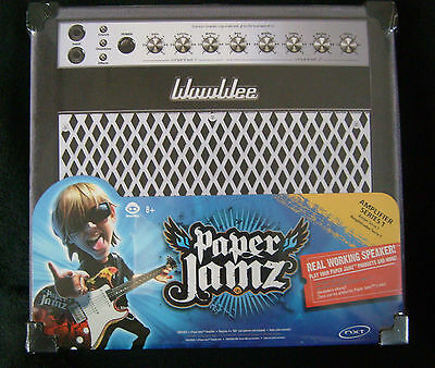 Wow Wee Paper Jamz Amplifier - Series 1 - New factory sealed - 8+ # 6274 new