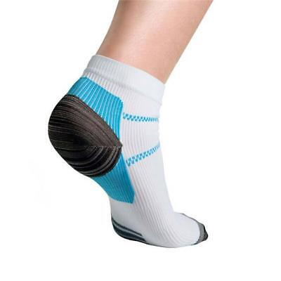 Foot Compression Sleeves Circulation Angel Ankle Swelling Pain Socks Relief LIN