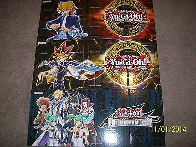 3 Hardcover Double Sided Playmats Legendary Collection 3 + 4 + 5 LC5D Yu-Gi-Oh!