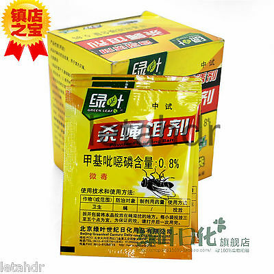 10/50 bags 5g Max force Fly Insects Killing Bait Pest killing Powder pesticides