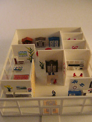 (Z128B) furniture store (not painted building kit) Scale Gauge Z (1:220)