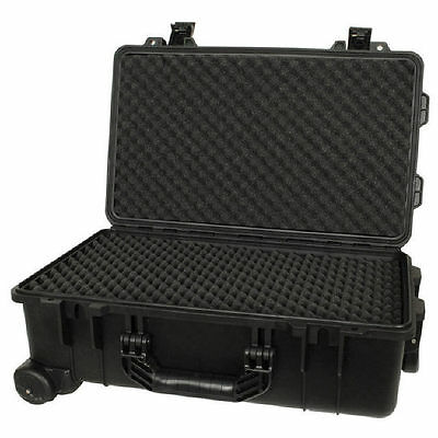 NWA  ABS Foam Cushioned Rolling Instrument Case with Purge Valve MPV8 BRAND NEW