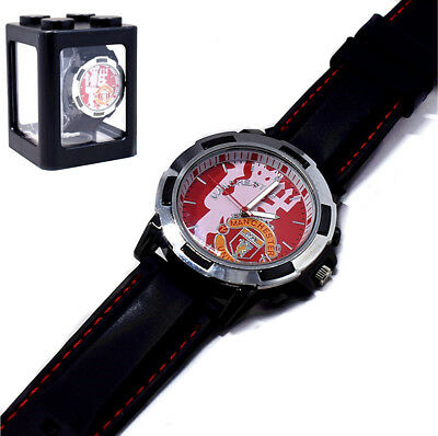 Manchester United Soccer Football Fans Watch Champions League.Ver New In Box