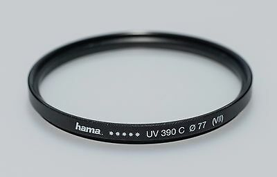hama UV Filter 77mm UV 390 C (VII)