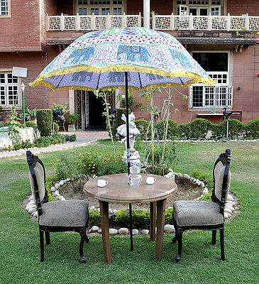 Scenic Indian Patio Large Parasol Embroidered Elephant Cotton Outdoor  With Remarkable Indian White Garden Umbrella Elephant Embroidered Cotton Patio Outdoor  Parasol With Cool How To Grow A Cottage Garden Also Gardening Express Voucher Code In Addition Beatrix Potter Garden Ornaments And Garden Canes Ft As Well As Madison Roof Gardens Additionally Cast Iron Garden Bench From Picclickcouk With   Remarkable Indian Patio Large Parasol Embroidered Elephant Cotton Outdoor  With Cool Indian White Garden Umbrella Elephant Embroidered Cotton Patio Outdoor  Parasol And Scenic How To Grow A Cottage Garden Also Gardening Express Voucher Code In Addition Beatrix Potter Garden Ornaments From Picclickcouk