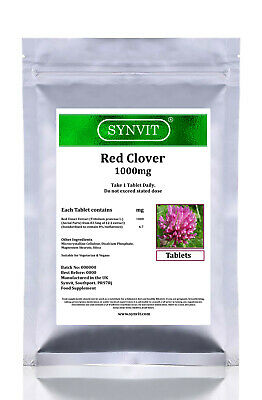 Red Clover 1000mg HIGH STRENGTH Supplement Menopause SYNVIT®