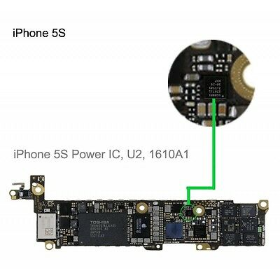 New iPhone 5S / 5C Power Charger Charging Control IC Chip  - UK SELLER