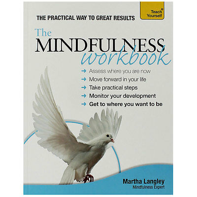 Mindfulness Workbook - Teach Yourself Mindfulness by Martha Langley - New Book