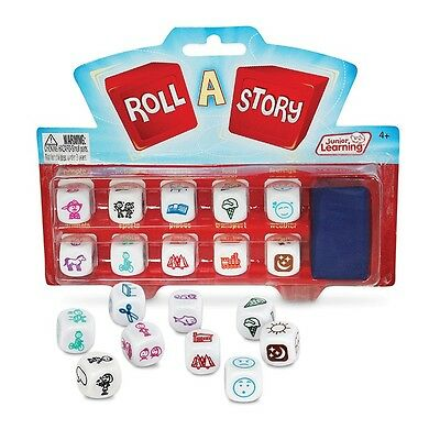 Roll A Story Dice Games Narratives Literacy Teacher Resource Educational Learn