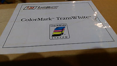 "ColorMark TransWhite Film-Wide Format Paper for Graphic Transparencies 36""x100'"