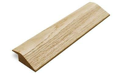 Solid Oak R Section Ramp Threshold Door Strip Trim 900mm Un Finished