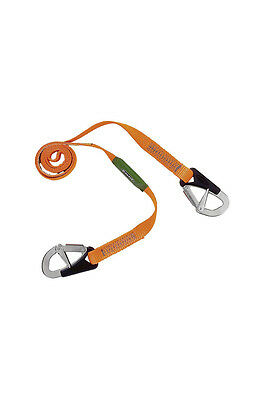 Burke Sailing Safety Tether Line SALE! - 2 Hook attaches to harness