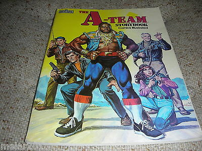 The A-Team Storybook Comics Illustrated Marvel Books Softcover